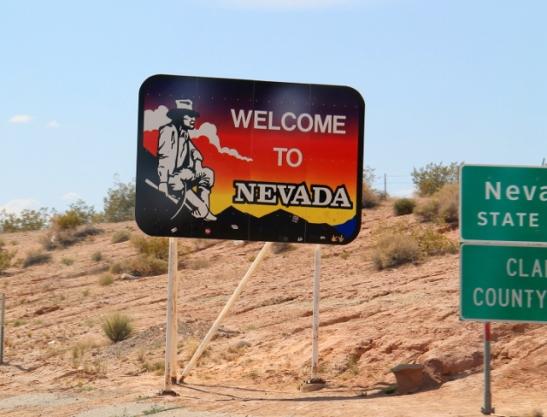Arizonasta Nevadaan.