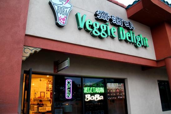 Veggie Delight oli lähinnä vietnamilaista ruokaa tarjoava kasvisravintola.