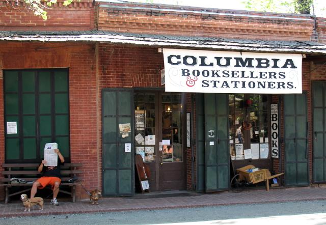 Columbian historiallisen puiston kirjakauppa.