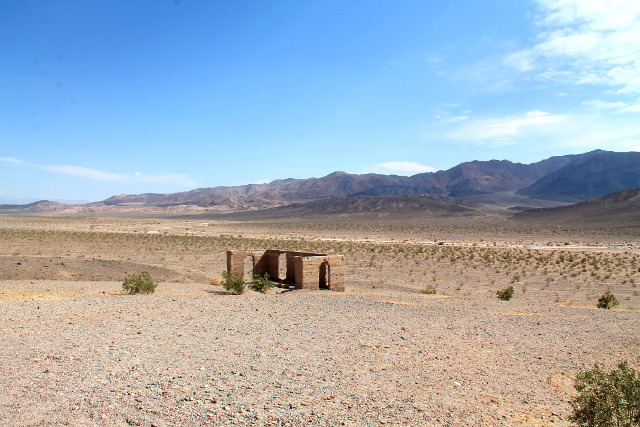 Death Valleyhin on joskus eksynyt jonkinmoista asutusta.