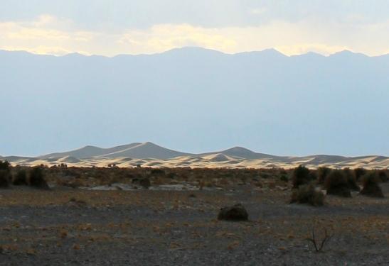Death Valleyn dyynit.