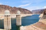 Hoover Damin yläjuoksu.