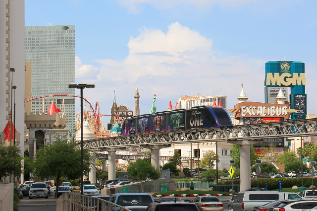 Las Vegasin monorail.