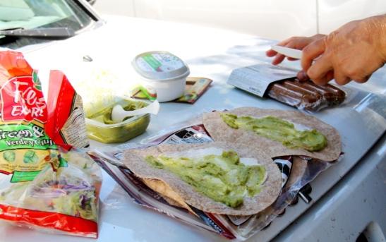 Sitten vielä guacamolea. Valmisguacamole on kätevä herkku, toiset vaan maistuvat kunnolliselle kun toiset taas eivät.