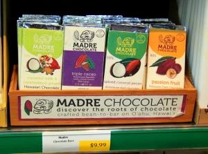 Suklaata Oxbow´n kauppahallissa, 10 dollaria levy.