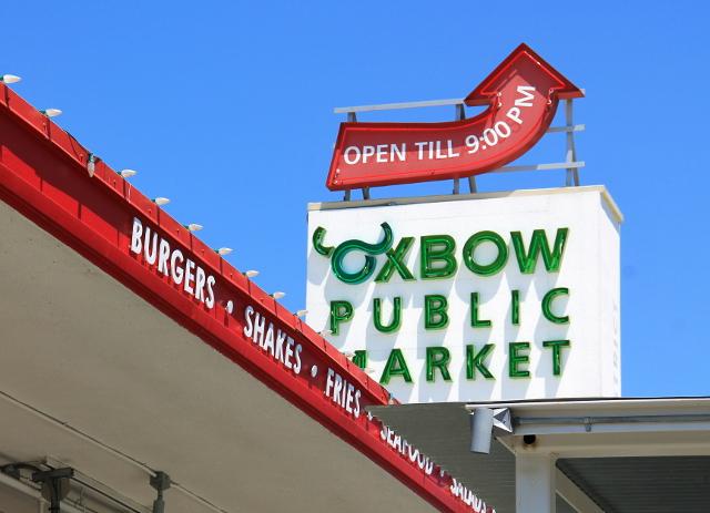 Napan kaupungin Oxbown kauppahalli.