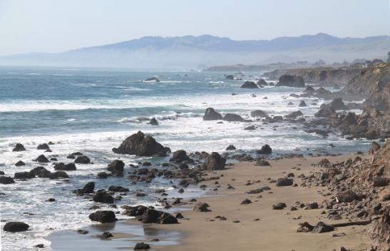 Tyynen valtameren ranta