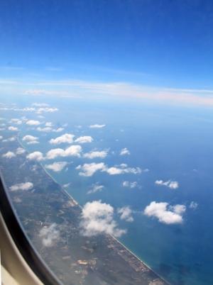 Andamaanien meren rantaviivaa.