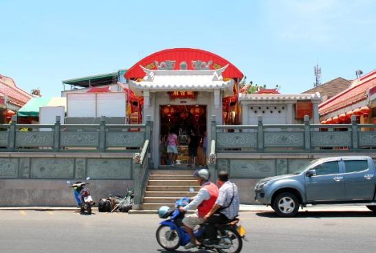 Jui Tui -temppeli on Phuket Townin kasvisfestivaalien keskus.