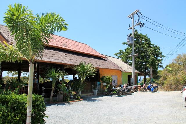 Respa- ja ravintolarakennus Kantiang Viewillä.