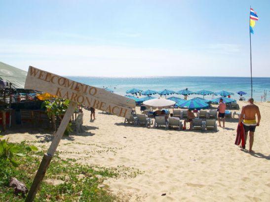 welcome to karon beach