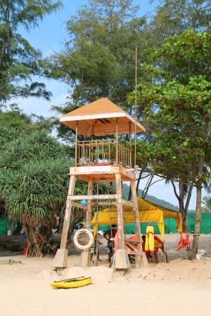 Hengenpelastajien torni Kata Yailla.