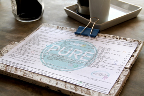 puren menu