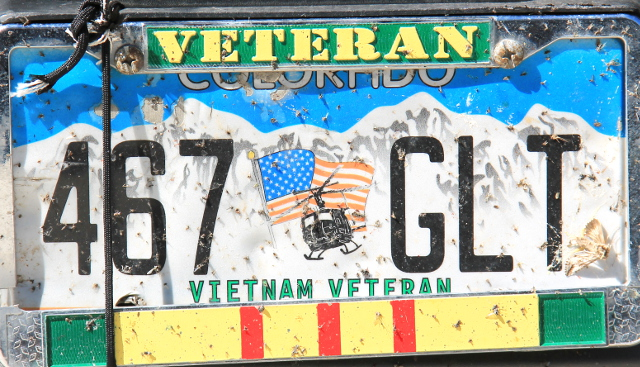 Coloradon veteraanirekkari.