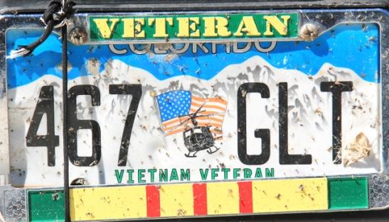 Coloradon veteraanirekkari.