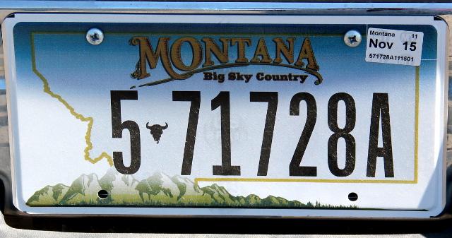 Montanan maisemarekkari 1.