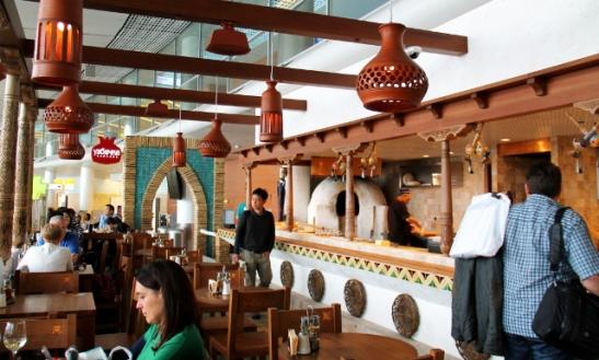 Seremetjevon uzbekistanilainen ravintola.