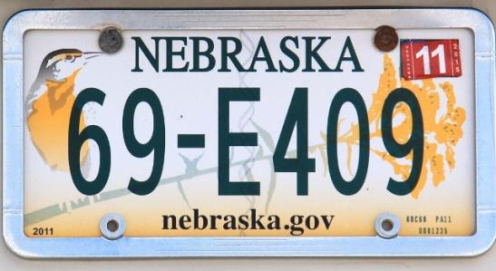 Nebraskalla on kiva lintu.