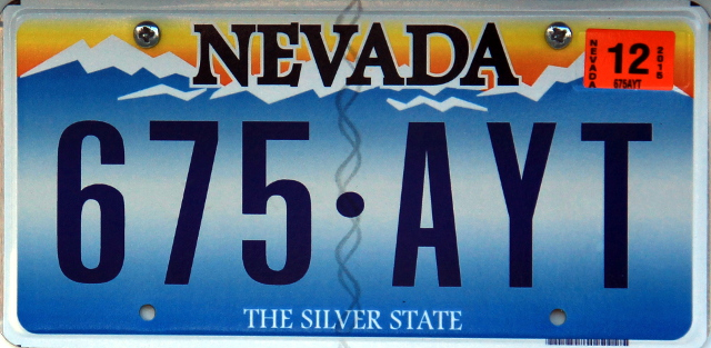 Nevada luottaa vuorimaisemaan kuten Washington, Montana ja Coloradokin.
