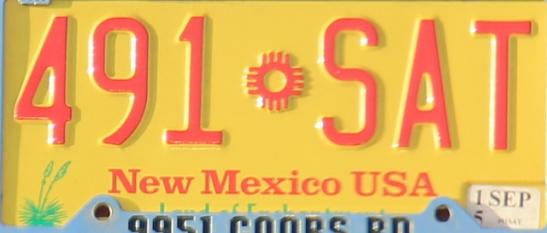 Uuden Meksikon oranssi.