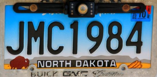 North Dakotan rekkarissa on biisoni.