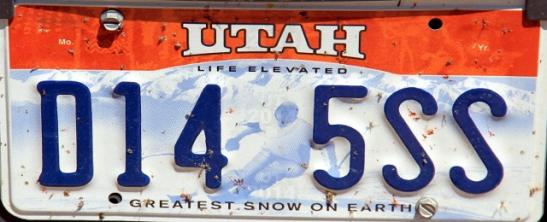 Utah mainostaa talviurheilumahdollisuuksia.