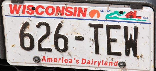 Wisconsinista jäi vähän surkea olo ja kaiken lisäksi se ilmoittaa olevansa America´s Dairyland.