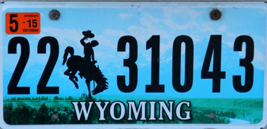 Wyomingin cowboy-rekkari.
