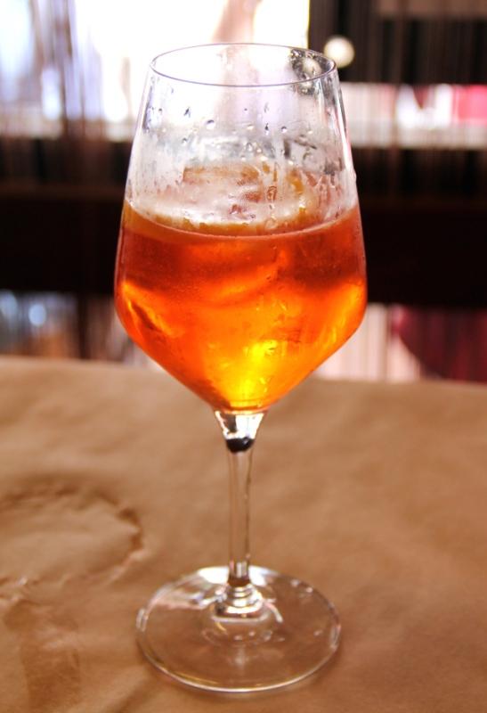 Aperol spritz on hyvää.