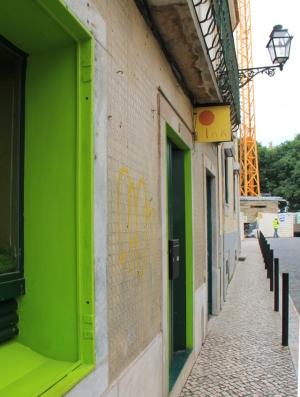 Ink Farmfood Cafen ovet pysyivät meille kiinni.