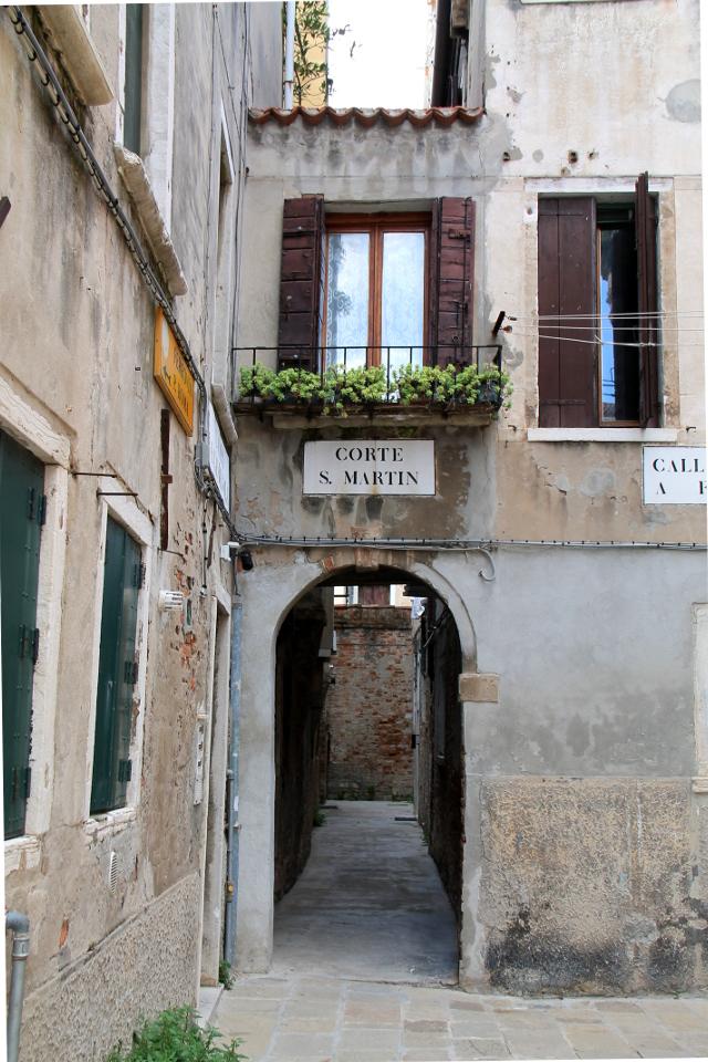 käytävä venetsiassa