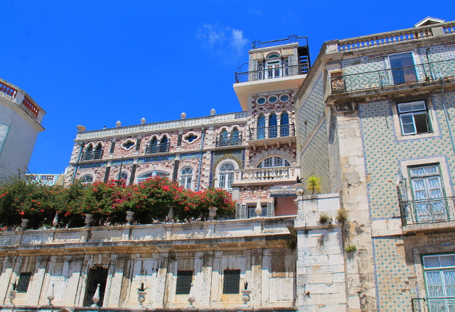 koristeelliset rakennukset lissabon