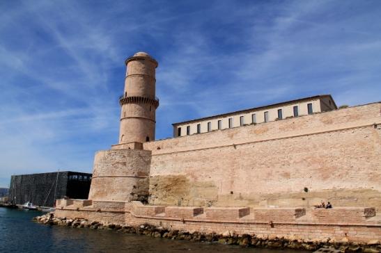 Fort Saint-Jean Marseillessa.
