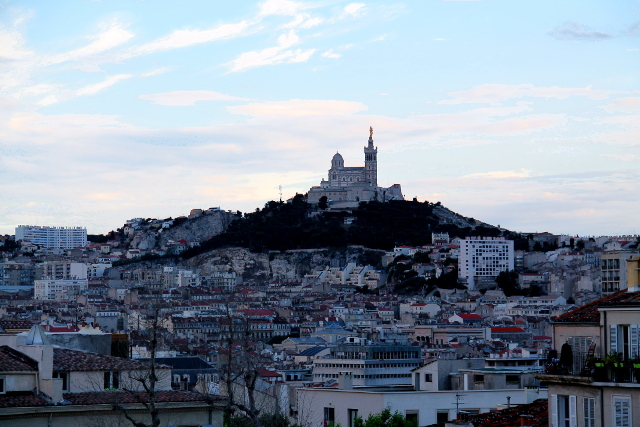 Notre Dame illansuussa Marseilleen saavuttuani.