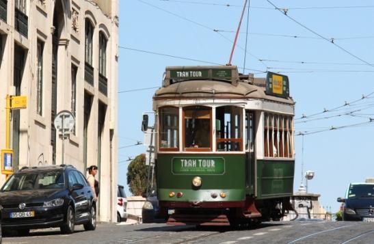 raitiovaunu lissabonissa