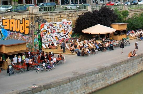 Tonavan vartta Wienissä.