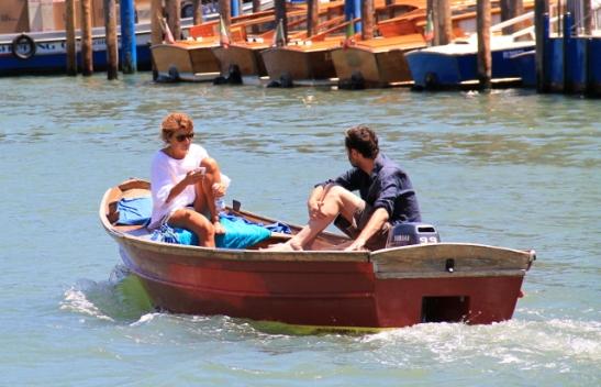 veneilijät venetsiassa