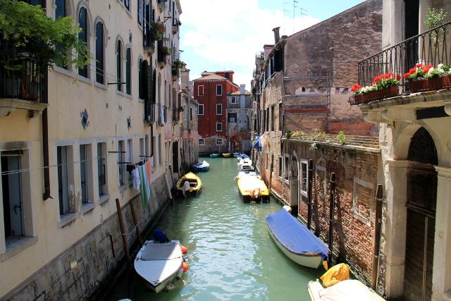 Venetsialaisten veneet ovat heidän autojaan.