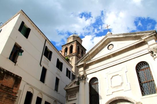 venetsian rakennuksia