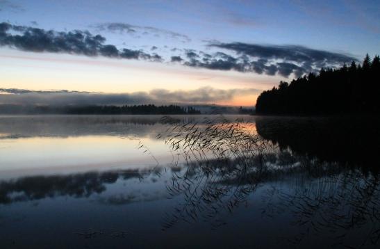 järvi kesäyönä
