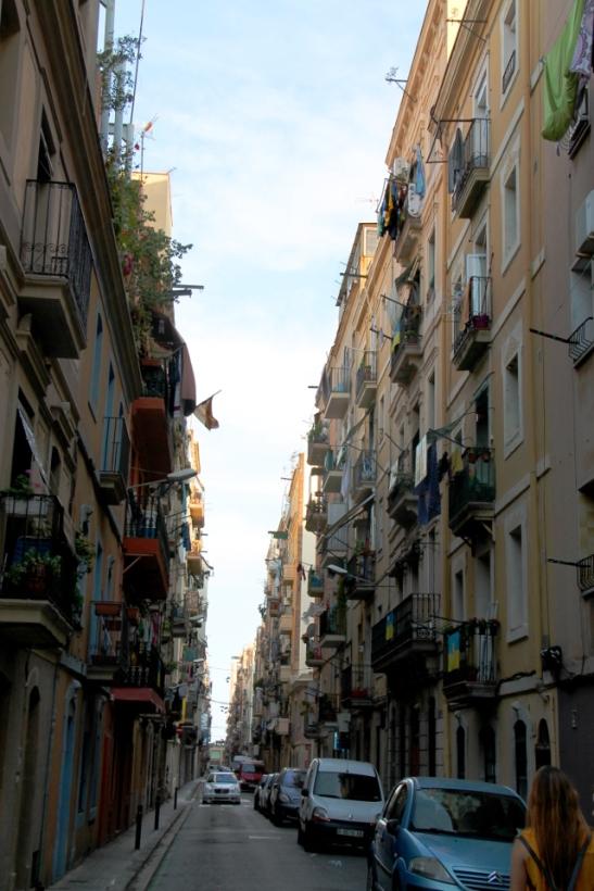 Kuja Barcelonetassa.