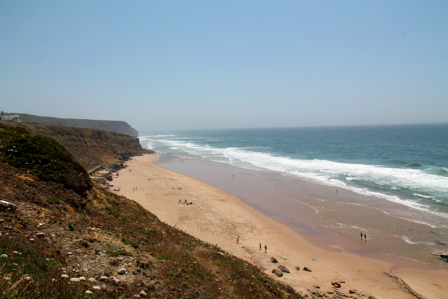 Praia Granden hiekkarantoja.