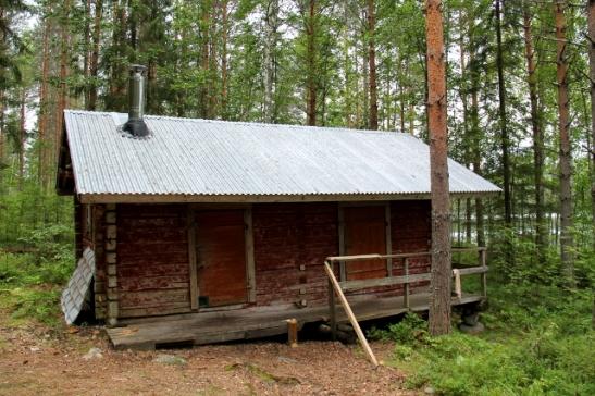 Autiotuvan saunarakennus.