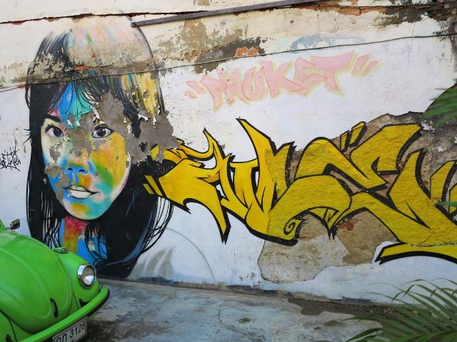 Graffiti Phuket Townissa. Kuva: kRisu