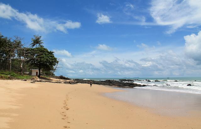 Yksi Koh Lantan rannoista.