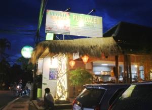 Veggiekarma on yksi Ubudin monista kasvisravintoloista, joissa en ehtinyt käydä.