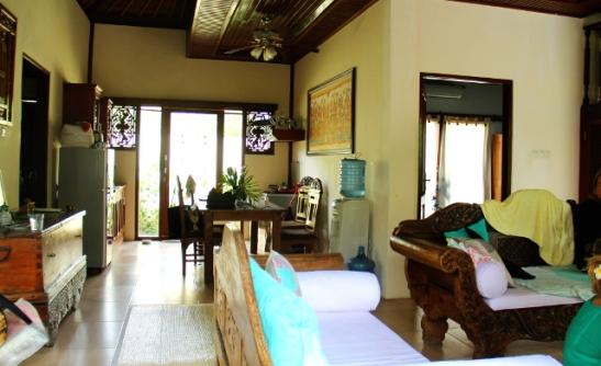 Balityylinen sisustus on ihanan näköistä.