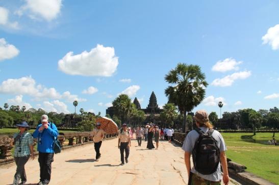 Angkor Watin sisempi länsisisäänkäynti.