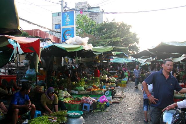 Kandal market.