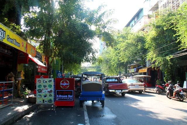 Phnom Penhin turistialuetta.